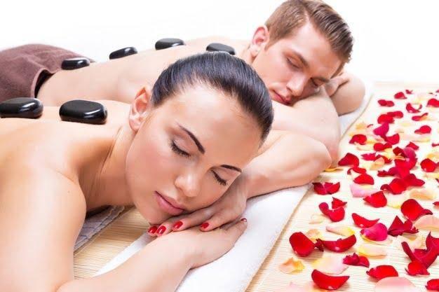 Hot Stone Couple massage